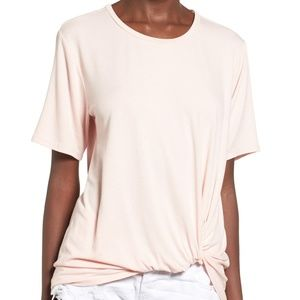 June & Hudson Knot Front Tee